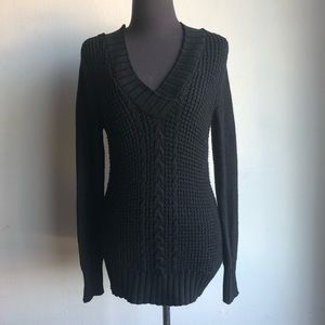 DKNY Jeans sz S cable knit sweater